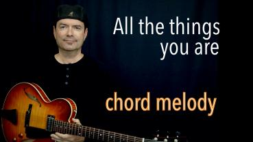 All the things you are - Chord - Melody