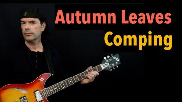 Autumn Leaves - Comping - Jazz Guitar Lesson