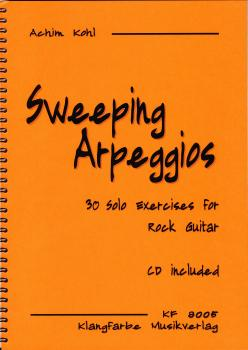Sweeping Arpeggios (Sweep Picking) Buch + CD / Download