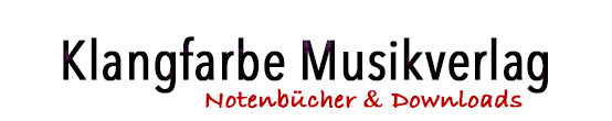 Klangfarbe Noten Shop-Logo