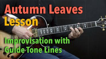Autumn Leaves - Jazz Guitar Lesson - Achim Kohl