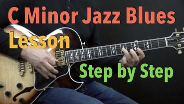C Minor Jazz Blues - Lesson