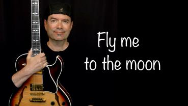 Fly me to the moon - Jazz Guitar Improvisation - Achim Kohl