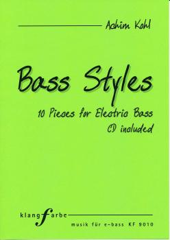 Bass Styles - 10 Pieces for Electric Bass + CD