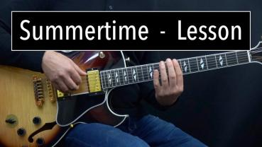 Summertime - Comping & Improvising - Lesson