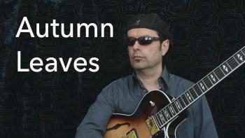 Autumn Leaves - Jazz Guitar Solo - Achim Kohl